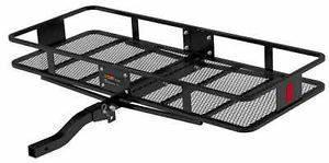 Black Basket Style Cargo Carrier