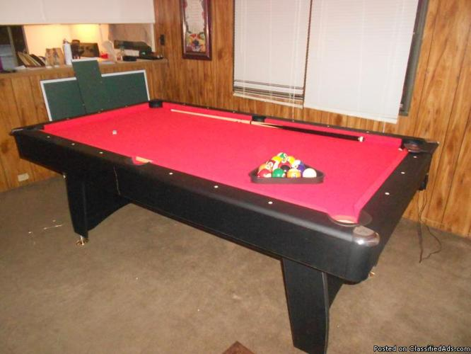 brand new pool table - Price: $500.00