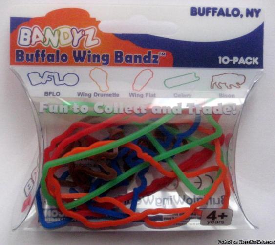 Buffalo Chicken Wing (silly) Bandz - Price: 3.50