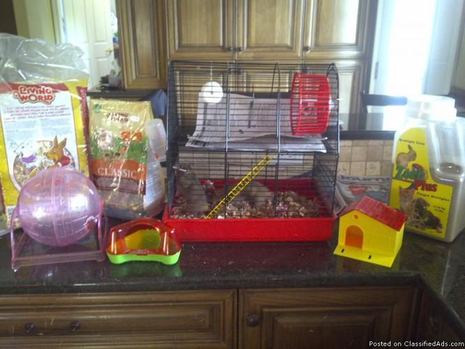 Cage for Hamsters - Price: $50.00