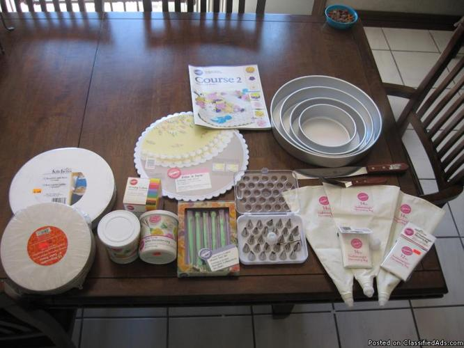 Cake Decorating Supplies - Price: USD75 in Rio Rancho, New ...