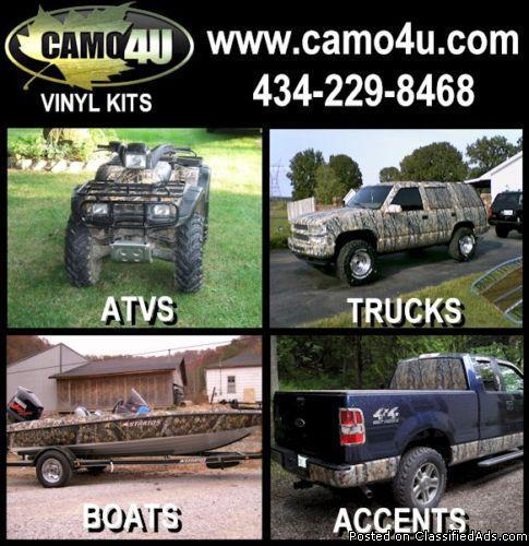 Camo4u - Camowraps for ATVs and Trucks - Price: 120