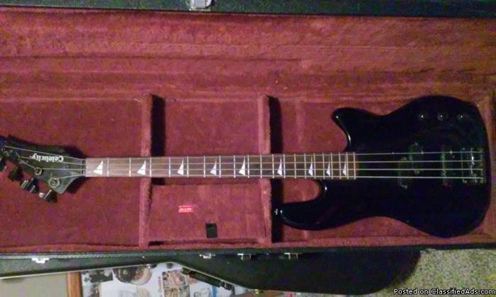 celebrity bc-2 solid body bass