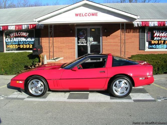 Clean 1989 Corvette