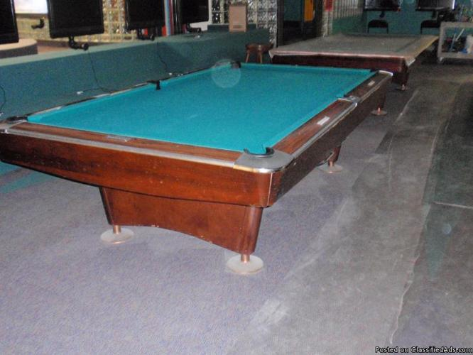 Brunswick Pool Table Prices Commercial grade 9 ft Brunswick pool table - Price: $1500 in Duluth ...