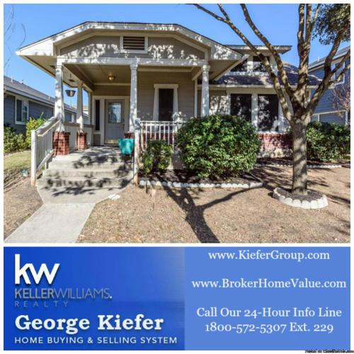 Craftsman-style house with extensive wood floors in Kyle Texas $210,000