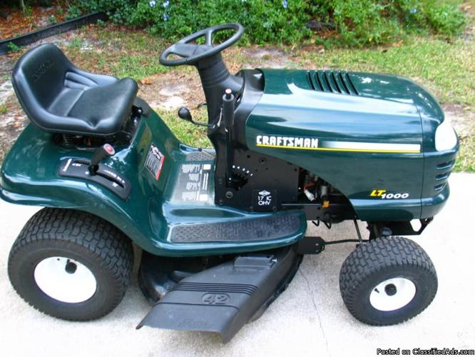 Craftsman Riding Lawn Mower Model 502256117 Pictures to pin on