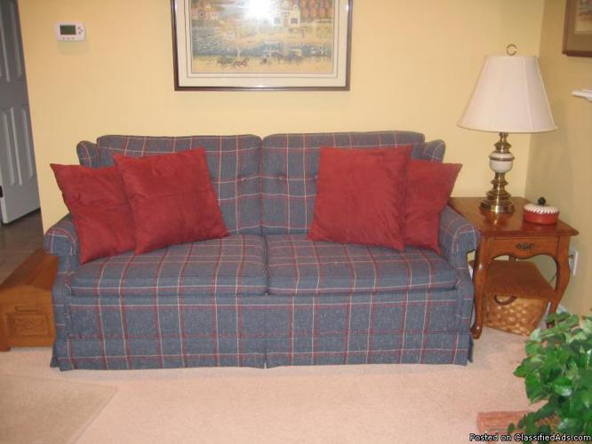 ethan allen sleeper sofa and loveseat price 350 00 in