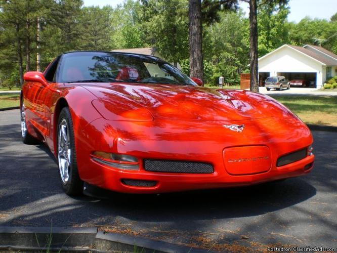 Exquisite Corvette Show Car