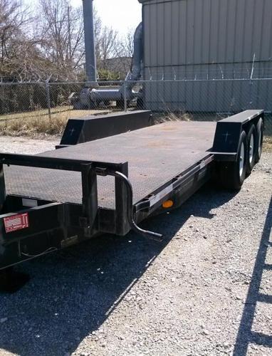 Flatbed trailer 3 axle 20 flt