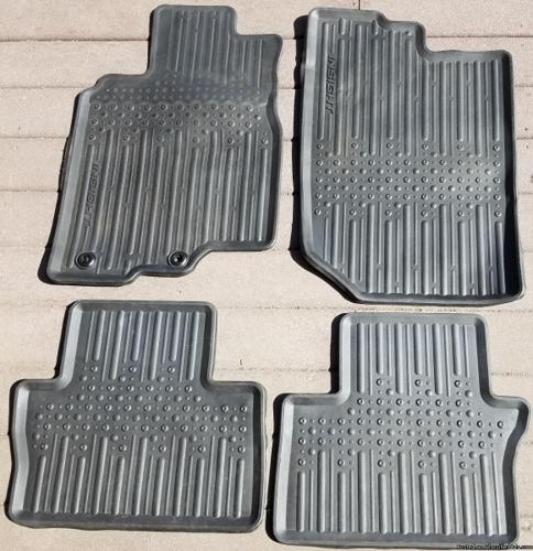 Floor Mats Ford Insight 2010-2013 Rubber Black set of 4