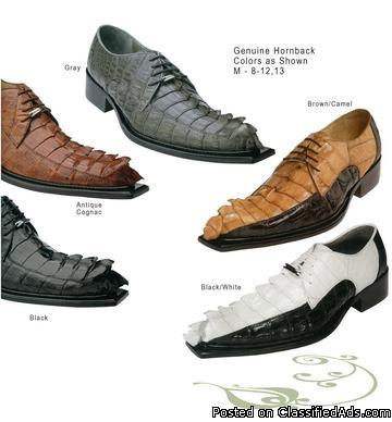 Genuine High End Reptile Skin Men shoes