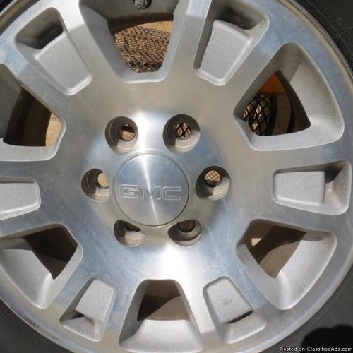 gmc rims tires