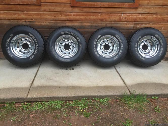 Goodyear Wrangler HT Tires (4)