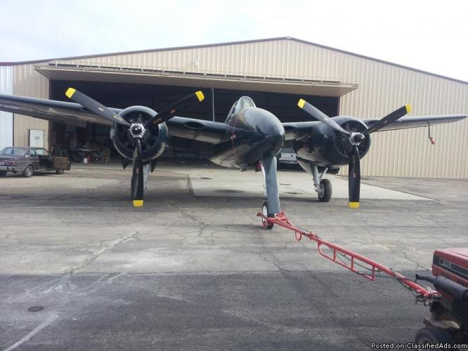 GRUMMAN F7F TIGERCAT RESTORED TO NEW CONDITION