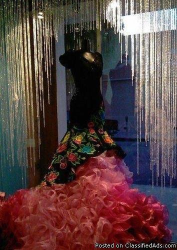rivera quinceanera dress