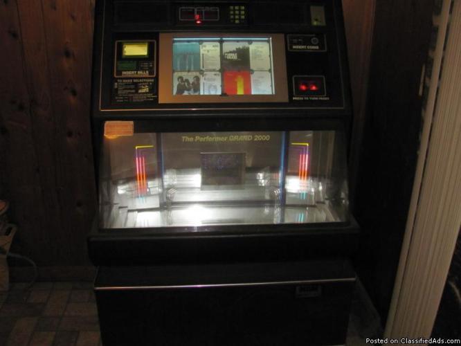 Juke Box - Price: $1200