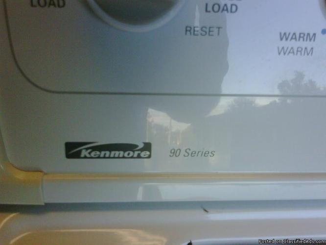 Kenmore 90 Series Washer & Dryer For Sale - Price: $350
