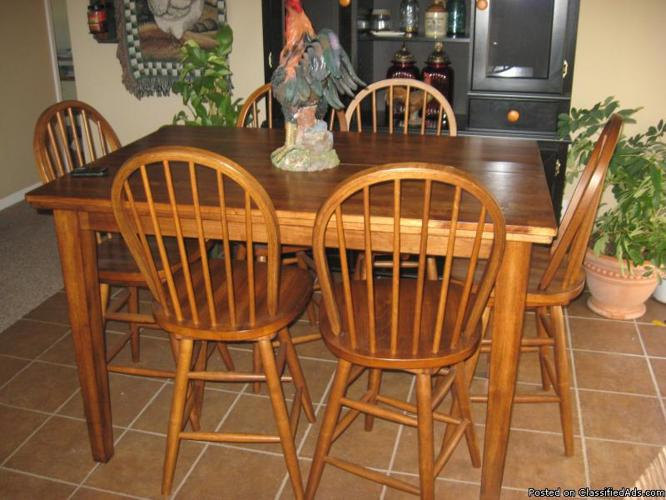Kitchen table w/ 6 chairs & Couch & Love Seat - Price: 1200.00