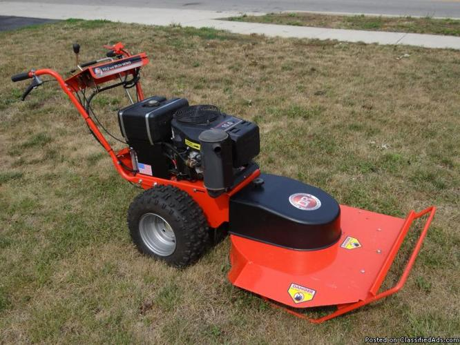 Like New!15 hp DR Field&Brush mower + snowblower attachment - Price: 2,200