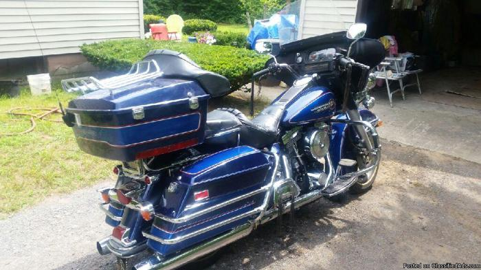 Low Mileage Harley Davidson