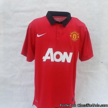 Manchester United home jerseys