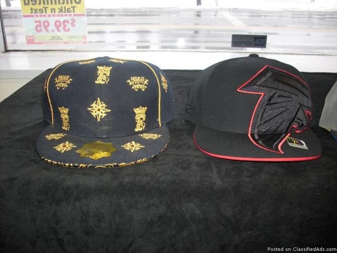 Men's Fitted Hats and Plain Tee's