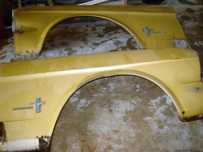 Mustang Fenders
