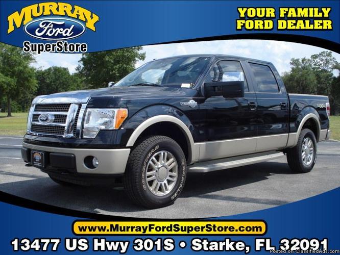 Murray Ford Starke Fl >> New 2010 Ford F150 4x4 King Ranch Supercrew Starke Fl