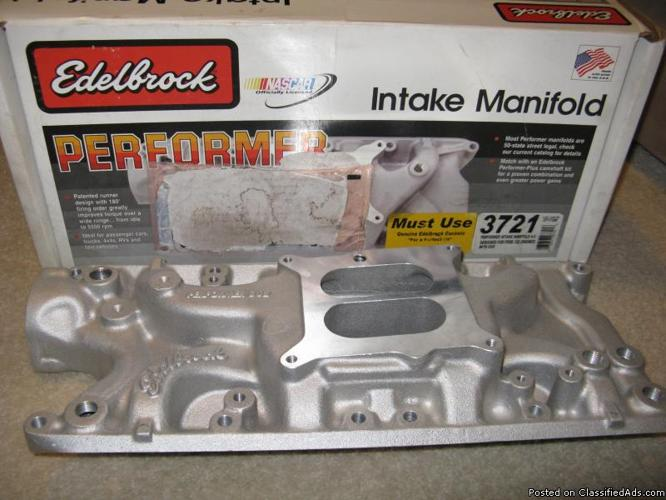 New Edelbrock Performer intake manifold Ford #3721