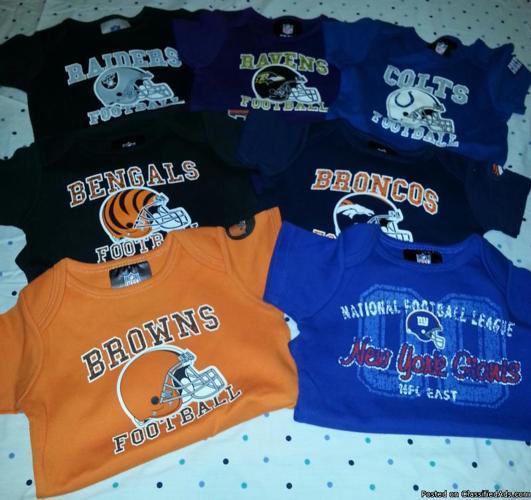 NFL Infant/Toddler Apparel for girls and boy