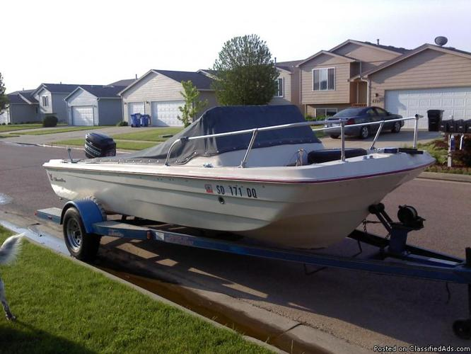 Nice Boat &Trailer - Price: $1,500. FIRM