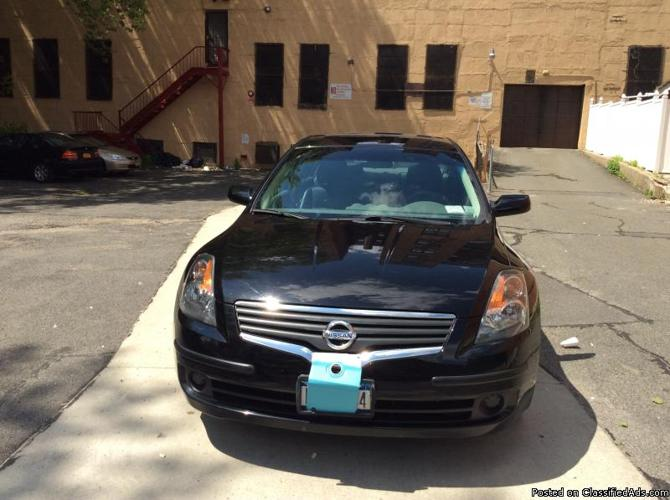 Nissan Altima 2007 Black
