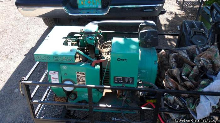 onan generator 1979 4,000 out of motorhome