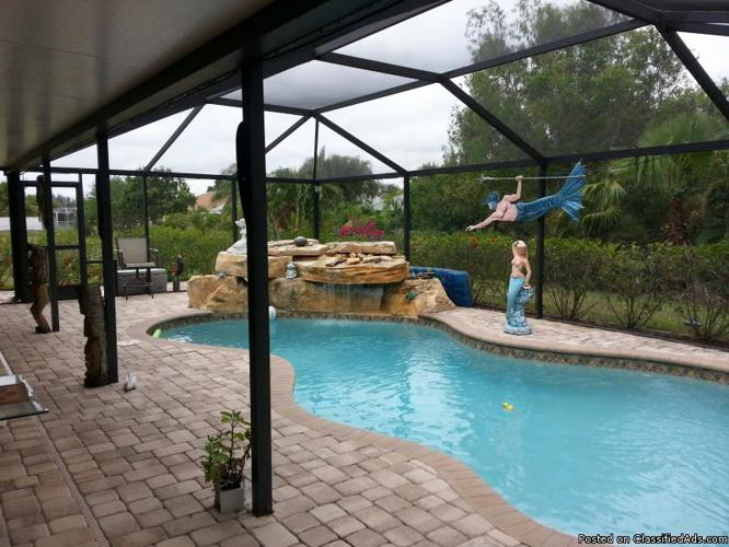 OWNER FINANCING 3 BEDROOM 2 BATH with POOL in Cape Coral