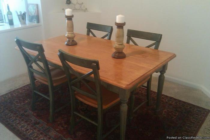 Pier 1 dining table amp chairs like new Price 275 in  : pier1diningtablechairslikenewprice27520901576 from bocaraton.cannonads.com size 700 x 466 jpeg 179kB