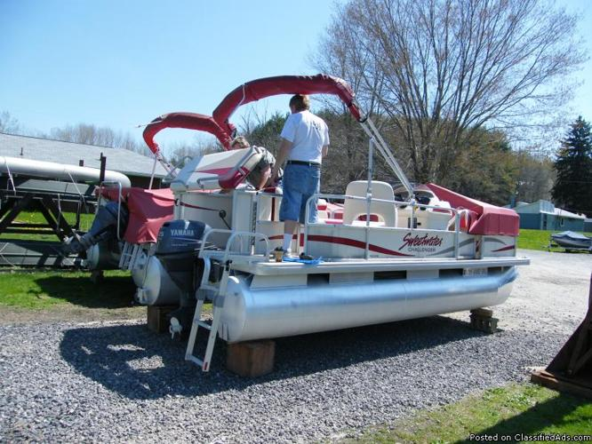 Pontoon Boat And Motor For Sale Price 5 In
