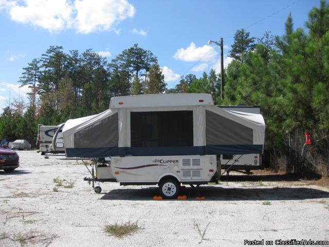 Pop Up Camper 2008 Coachmen Viking Clipper