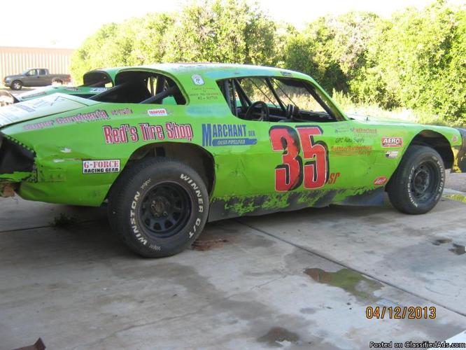 Pure Stock Dirt Cars