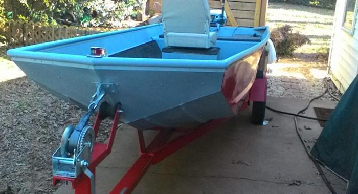 %%% REDUCED 1988 LOWES COLT 14FT & NEW 2014 TRAILER