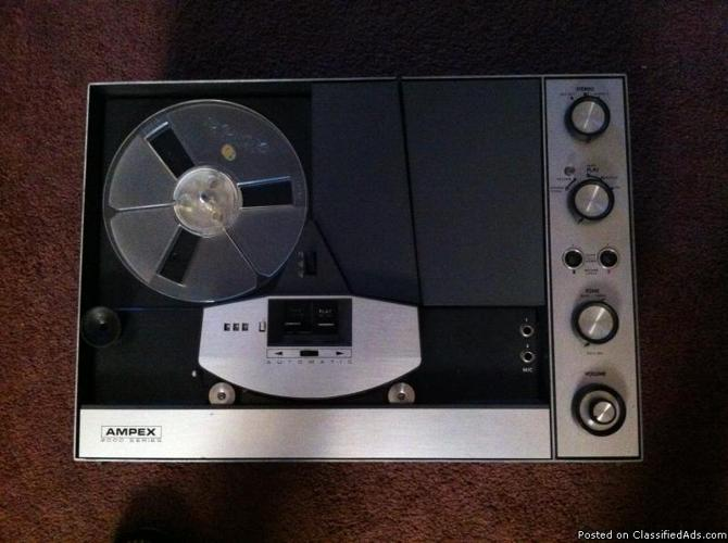 Reel to reel tape recorder player