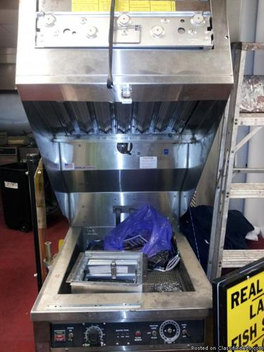 Self-contained new fryer (never used) - Price: 500.00