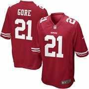 Size 56 SF 49ers Frank Gore Game Jersey - Price: $85