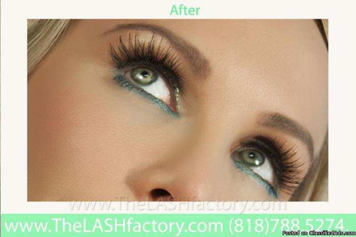 Specializing In Eyelash Extensions And All Individual Hair Extension