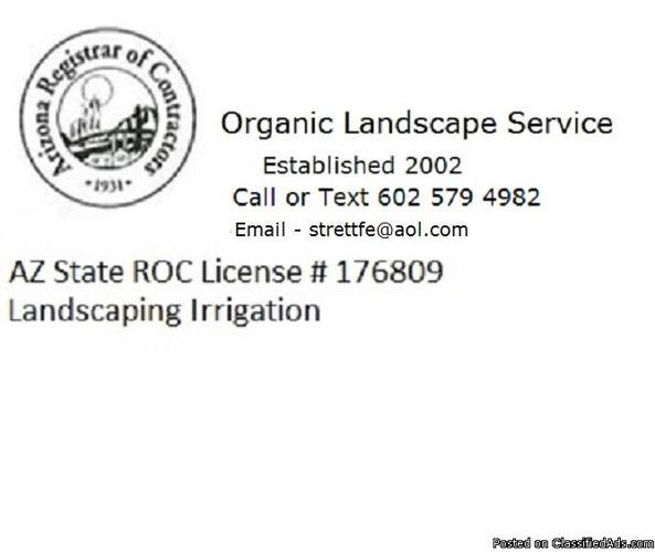 sprinkler, Repair Install Desert Ridge system Irritrol Rain