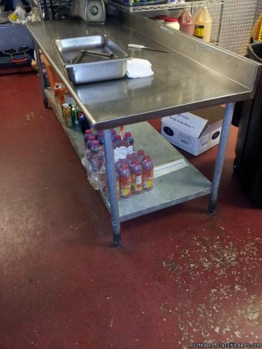 Stainless Steel Prep Table - Price: 150.00