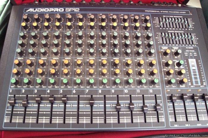 Studio Mixer Equipment