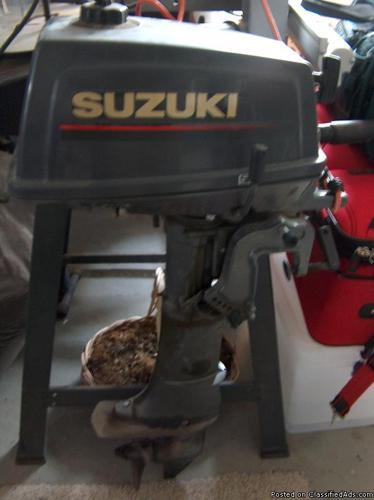 Suzuki 4 Hp Outboard Motor Price 500 In Nampa Idaho