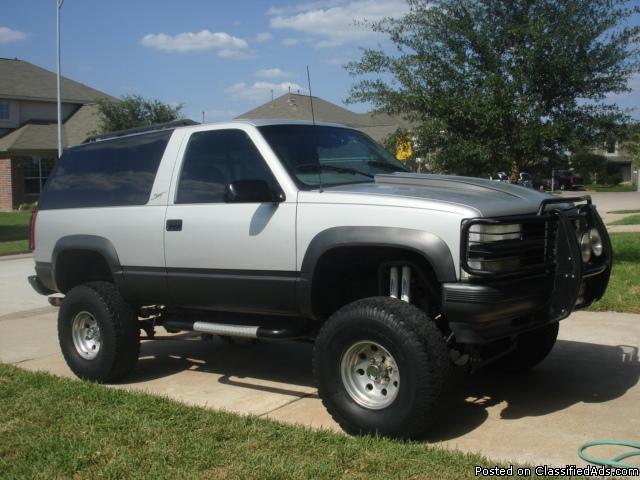 The best 2 door tahoe 4x4 sport edition price 7500 in katy texas