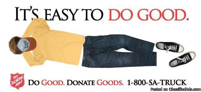 The Salvation Army Needs Your Donations